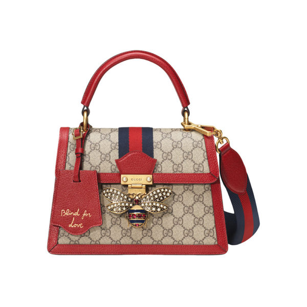 2e7460744d7 GUCCI petit sac à main Queen Margaret GG