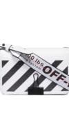 OFF-WHITE  mini sac à bandoulière Clip rayé