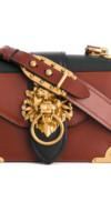 PRADA  sac porté épaule à plaque logo
