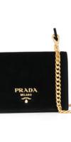 PRADA  sac porté épaule Pattina