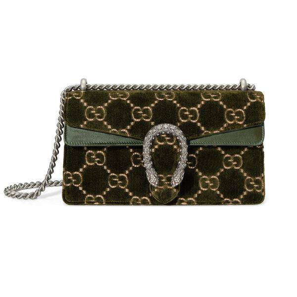 c176a06f64b GUCCI sac à épaule Dionysus petite taille à motif GG en velours ...