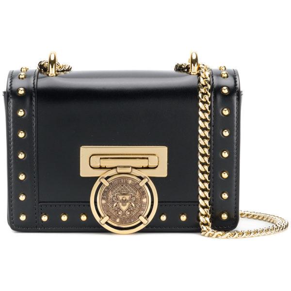 mini Box flap bag - Black Balmain Discount Pre Order Outlet Largest Supplier Buy Cheap Really Reliable Cheap Online xBdsjo