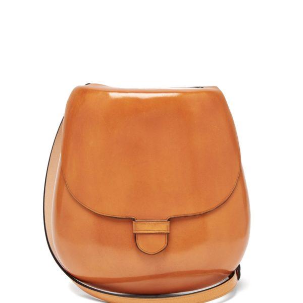 LEMAIRE Cartridge mini leather cross-body bag