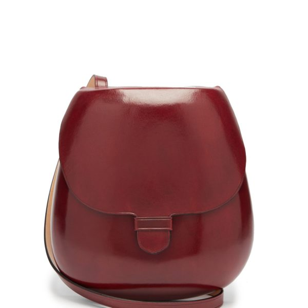 LEMAIRE Cartridge vegetable-tanned leather cross-body bag