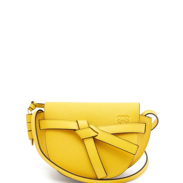 0d76930e81f7 LOEWE Gate mini grained-leather cross-body bag