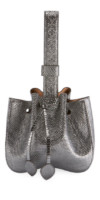 ALAIA Rose-Marie Mini Varan Bucket Bag