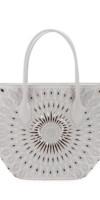 ALAIA Latifa Small Lux Tote Bag