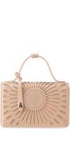ALAIA Franca XS Studded Crossbody Bag